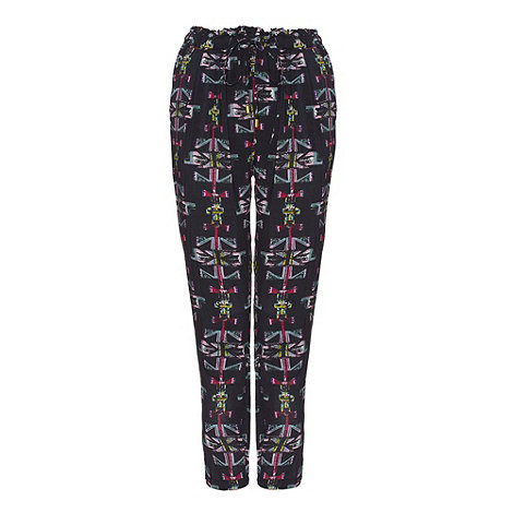 Yumi - Black Totem trousers