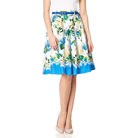 Yumi - White The quixotic garden skirt