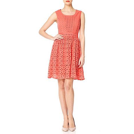 Yumi - Coral Pick & mix dress
