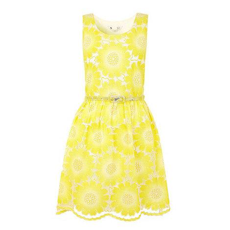 Yumi - Yellow Pretty petal dress