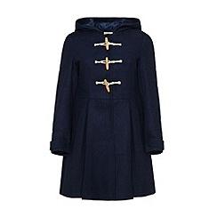 Yumi - Hooded duffle coat