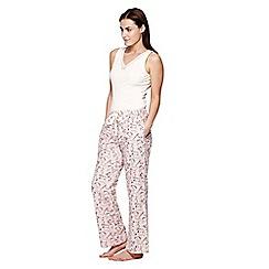 Yumi - Pink Cat Pyjama Trousers