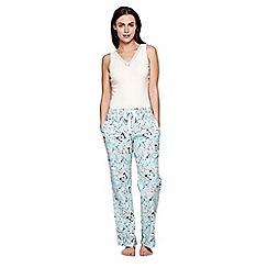Yumi - Blue Butterfly Pyjama Trousers