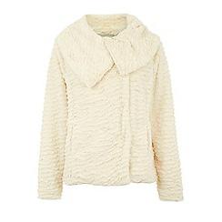 Yumi - Faux fur jacket