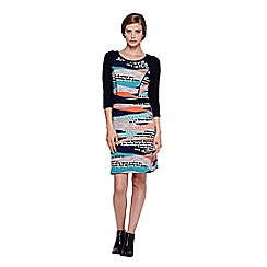 Yumi - multicoloured  Tunic Dress With Graphic Print