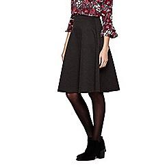 Yumi - grey Midi Skater Skirt