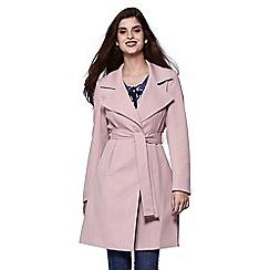 Yumi - Pink pastel trench coat