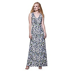Yumi - Multicoloured  wildflower maxi Dress
