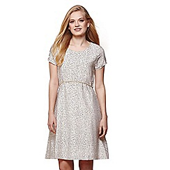 Yumi - Ivory nordic dash day dress