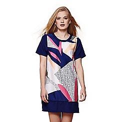 Yumi - Multicoloured nordic tunic dress