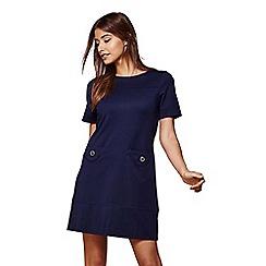 Yumi - Blue pocket tunic dress