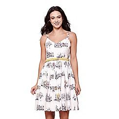 Yumi - Scandi sketch belted day dress