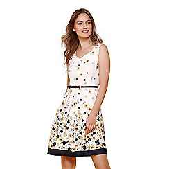 Yumi - Ivory buttercup spot dress