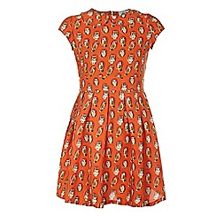 Yumi Girl - Owl print dress