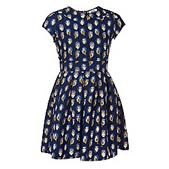 Yumi Girl - Owl print dress