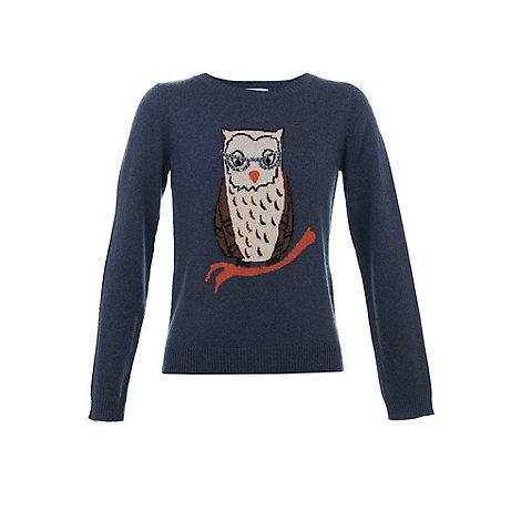 Yumi Girl - Owl print jumper