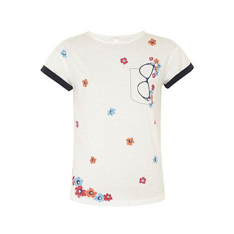 Yumi Girl - Cream Glasses t-shirt