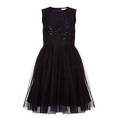 Yumi Girl - Black Tutu Dress With Sequins