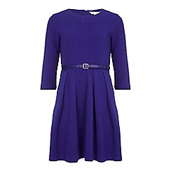Yumi Girl - Blue Belt Dress