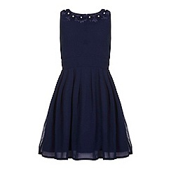 Yumi Girl - Blue Embellished Party Dress