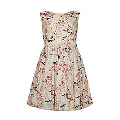 Yumi Girl - Eastern bird print dress