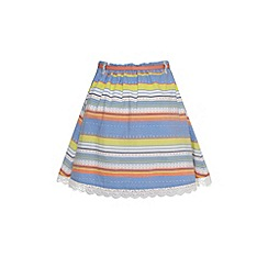 Yumi Girl - Girls striped cotton skirt