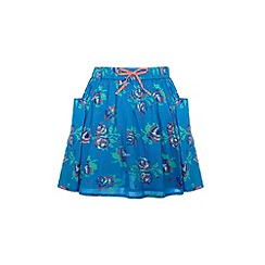 Yumi Girl - Girls rose print skirt