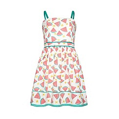 Yumi Girl - Watermelon print sun dress
