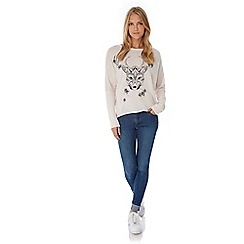 Yumi - Blue Hear Me Roar Jumper