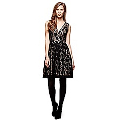 Yumi - Black Yumi Black Vintage Lace Dress