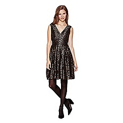 Yumi - black  Sequin Lace Party Dress