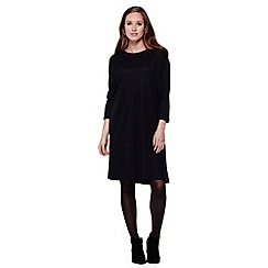 Yumi - black  Tunic Top With Long Sleeves