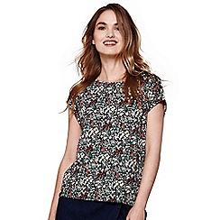 Yumi - Multicoloured floral print top