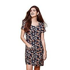 Yumi - Multicoloured floral print tunic dress