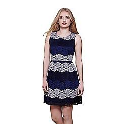 Yumi - Multicoloured gradient lace dress