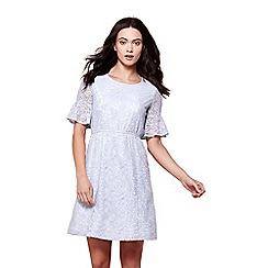 Yumi - Blue lace tea dress