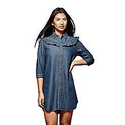 Yumi - Blue 'Freya' shirt dress