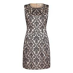 Yumi - Ivory sleeveless 'Lowri' occasion dress