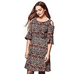 Yumi - Multicoloured floral print 'Diya' summer dress