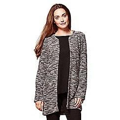 Yumi - Grey two pocket marl jacket