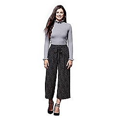 Yumi - Dash patterned culottes