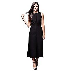 Yumi - Black laced jumpsuit