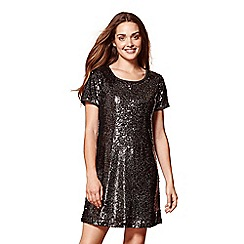 Yumi - Sequined party tunic dress