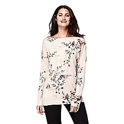 Yumi - Bird and floral print jumper