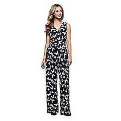 Yumi - Butterfly printed jumpsuit
