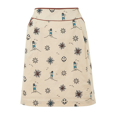 Yumi - Cream Lighthouse skirt