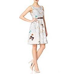 Yumi - Cream Flutter-by map dress