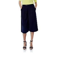 Yumi - Black Wide Leg Culottes