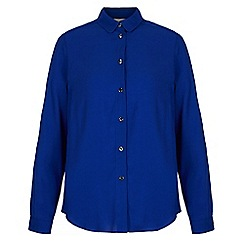 Yumi - Blue long sleeve shirt