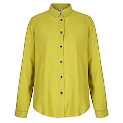 Yumi - Green long sleeve shirt